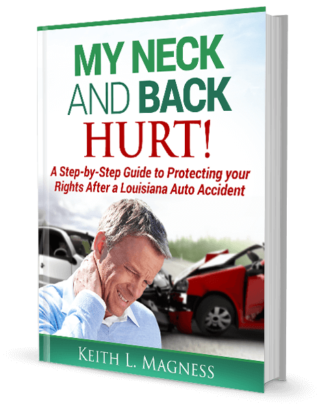 Neck & Back Car Accident Injury Book Cover